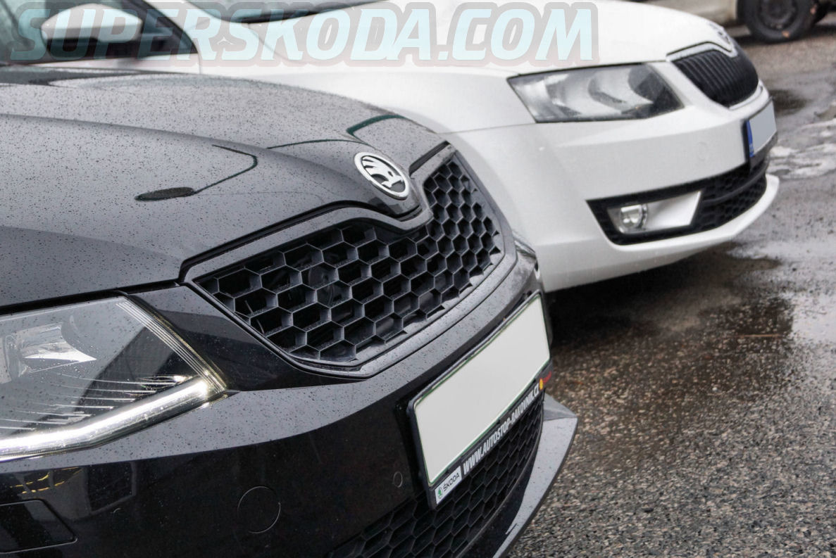 Octavia Iii Front Grille In Oem Honeycomb Design Ki R Kopacek Com Is Now Kopacek Com