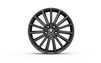 original Skoda rims TURINI black