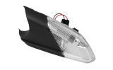 Octavia II 04-08 - original Skoda exterior mirror side indicator WITH boarding light - LEFT Click to view details.