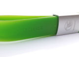 official Skoda 8GB USB silicone keychain in fluorescent green colour Click to view details.