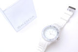 Women´s WHITE silicone watch - official Skoda collection Click to view details.