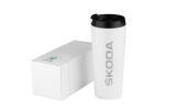 Double-walled SKODA thermal mug Click to view details.