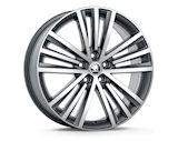 SIRIUS 19´ - original Skoda Auto,a.s. 4pcs set of rims 7x19 ET43