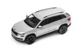 Kodiaq - 1/43 metallic diecast model - official Skoda Auto,a.s. product - BRILLIANT SILVER (A7W) Click to view details.