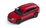 Kodiaq - 1/43 metallic diecast model - official Skoda Auto,a.s. product - RED VELVET (F3P) Click to view details.