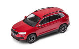 Karoq - 1/43 metallic diecast model - official Skoda Auto,a.s. product - VELVET RED (F3P) Click to view details.