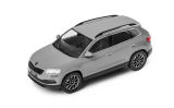 Karoq - 1/43 metallic diecast model - official Skoda Auto,a.s. product - STEEL GREY (F7A) Click to view details.