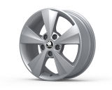 VELORUM 16´ SILVER - original Skoda Auto,a.s. 4pcs set of rims Click to view details.