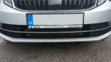 Octavia III 17+ Facelift - original Skoda front bumper CHROME lid - CENTER Click to view details.