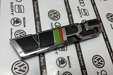 Fabia III - original Skoda front emblem RS from the limited RS245 edition Click to view details.