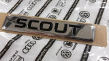 Genuine Skoda Auto,a.s. rear emblem ´SCOUT´ Click to view details.