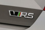 Fabia III - original Skoda rear emblem RS from the limited RS230 edition Click to view details.
