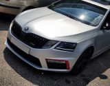 Octavia III RS Facelift - original Skoda fog frame lid set RED DEVIL Click to view details.