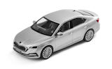 Octavia IV Limousine - official Skoda Auto,a.s. 1/43 diecast model - BRILLIANT SILVER Click to view details.