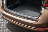 Octavia IV Combi - original Skoda rear bumper protective panel STAINLESS STEEL Click to view details.