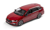 Octavia IV Combi RS - official Skoda Auto,a.s. 1/43 diecast model - VELVET RED Click to view details.