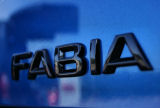 Genuine Skoda Auto,a.s. rear emblem ´FABIA´ - MONTE CARLO black version Click to view details.