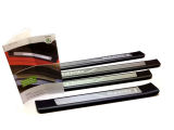 Rapid - luxury stainless steel interior door sills, original Skoda Auto,a.s. Click to view details.
