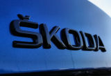 Genuine Skoda Auto,a.s. rear emblem ´SKODA´ - MONTE CARLO black version Click to view details.