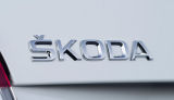 Roomster - genuine Skoda Auto,a.s. rear emblem ´SKODA´ Click to view details.