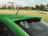 Rapid SpaceBack - original Skoda roof spoiler PAINTED with 43% DISCOUNT !!! Click to view details.