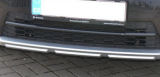 Yeti facelift CITY 14+ OEM Skoda front bumper center lid cover - BLACK LINE Click to view details.