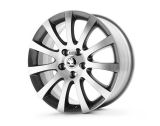 ANNAPURNA 17´ ANTHRACITE / SILVER - original Skoda Auto,a.s. 4pcs set of rims Click to view details.