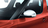 Yeti 09-16 - set of mirror covers (replacement) in SILVER METALLIC colour - original Skoda Auto,a.s. Click to view details.