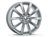 ALARIS 16´- SILVER - original Skoda Auto,a.s. 4pcs set of rims Click to view details.