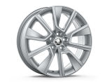 BRAGA 17´(silver) - original Skoda Auto,a.s. 4pcs set of rims Click to view details.