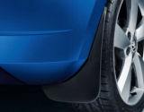 Fabia III hatchback - original Skoda mud flaps - REAR Click to view details.
