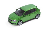 Fabia III - 1/43 RALLY GREEN metallic diecast model - Abrex/Skoda Auto,a.s. Click to view details.