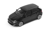 Fabia III - 1/43 BLACK MAGIC metallic diecast model - Abrex/Skoda Auto,a.s. Click to view details.