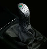 Fabia I - complete original RS premium leather shifter Click to view details.