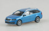 Octavia III Combi - original Skoda Auto,a.s. diecast model 1/72 - DENIM BLUE Click to view details.