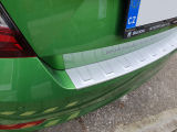 for Fabia III 2017+  rear bumper protective panel from Martinek Auto - ALU look Click to view details.