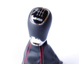 Octavia III - RS complete shifter with RED stitching for LHD cars Click to view details.