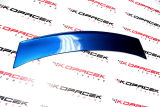 Octavia II RS 04-13 - rear spoiler add-on diffusor RS+ CONCEPT V1 - from ABS plastic-RACE BLUE (F5W) Click to view details.