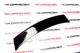 for Octavia II RS 04-13-rear spoiler add-on diffusor RS+ CONCEPT V1 - from ABS plastic-BLACK MAGIC ( Click to view details.
