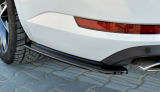 for Superb III - ABS plastic rear bumper side corner spoiler set - GLOSSY BLACK Click to view details.