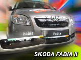 for Fabia II 07-10 - winter grille cover for the front bumper Click to view details.