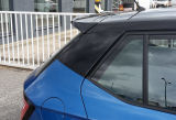 for Fabia III - rear C-pillar panel cover in GLOSSY BLACK finish - KI-R Click to view details.