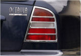 for Octavia 97-00 - CHROME tail light covers Click to view details.