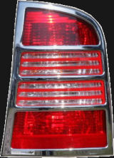 for Octavia Combi - CHROME tail light covers Click to view details.