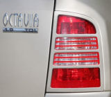 for Octavia Combi 01-07 facelift - tail light covers ABS DYNAMIC Click to view details.