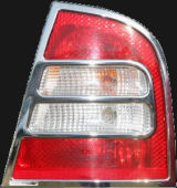 for Octavia 01-07 facelift - chromed tail light covers ABS DYNAMIC Click to view details.