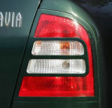for Octavia 01-07 facelift - tail light covers ABS DYNAMIC Click to view details.