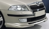 for Octavia II - spoiler set for OEM front bumper - ABS DYNAMIC Click to view details.