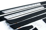 Skoda Octavia II 04-12 - original OEM door sill covers - LIMITED EDITION Click to view details.