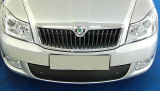 for Octavia II 09-12 Facelift - winter grille cover for the front bumper Click to view details.